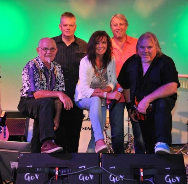 MOSS line-up: Left to Right: Peter Vawser, David White, Suzie Craig, Mark Simpkin, Mick Paprzycki